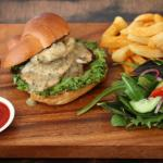 Chicken Burger with Lemon n herb