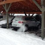 CarPort für Winter bestens geeignet