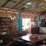 l'espace salon librairie au calme