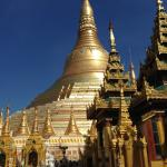 Shwedagon Temple, Yangoon.