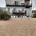 Playa abajo del departamento