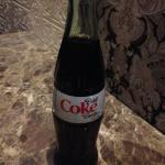 Diet Coke (in a glass bottle)