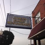 Athens Restaurant Sign