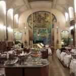 St.Petersburg / der traumhafte Jugendstilsaal im Belmond Grand Hotel