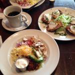 Cobb Salad + Potato Skins