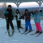 Group lesson  - View from Gazebo on Top of the Mountain!
