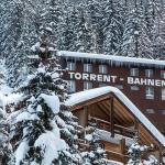 Torrent-Gondelbahn in unmittelbarer Nähe des Hotel Alex