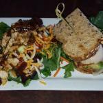 Pecan Dijon Salad & MonterreyClub