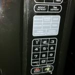 Worn out keypad on microwave