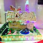 Gingerbread house decoration