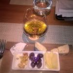 KWV 20 years old plus local Cape cheeseboard