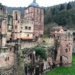 Schloss Heidelberg (vom SPA aus gut zu sehen!)
