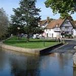 Eynsford river and ford