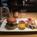 Pere Ubu Burger + Cole Slaw
