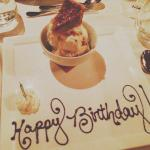Pecan pie ice cream( bday celeb)