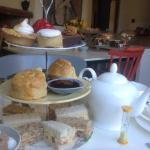 A sumptuous high tea at bread&co