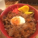 Gyudon (beef)