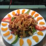 Dorita's Mandarin Salad - chicken or shrimp