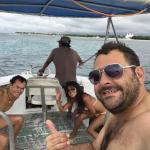 Después de un día de buceo en Cozumel