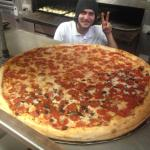 Biggest Pizza in town