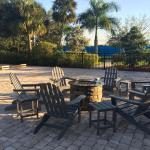 Campfires poolside