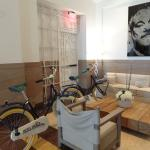 Uso gratuito de bicicletas do hotel