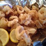 Calamari - melted in my mouth