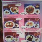 Reasonabky priced set meals