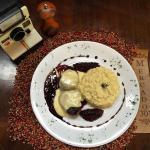 Pratos especiais, a cada semana uma novidade! Filé ao molho de vinho do Porto com fondue de Gruy