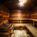 Relax in our soothing dry sauna
