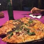 Bacon Pizza - highly recommended!
