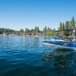Boating at Shore Lodge