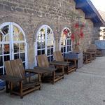 fauteuil en terrasse du CAPC