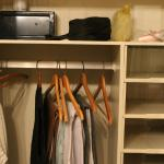 Wardrobe with separate section for everything