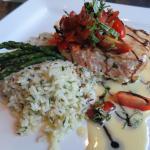 Amazing Salmon & Rice Pilaf