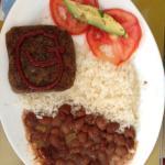 vegetarian lunch menu (main dish)