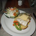 Erakor Island Resturant - local fish main