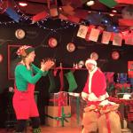 Elf and Father Christmas