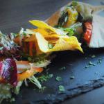 Light Lunch - Roasted Vegetable & Feta Pitta