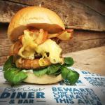 Chicken burger 6