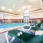 Lounge in any weather by our indoor pool