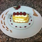dessert du jour: Millefeuille vanille mascarpone