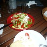 Ужин по-домашнему-гречески