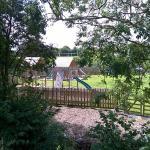Kids play area Warwick Arms