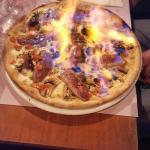 Pizza flambée