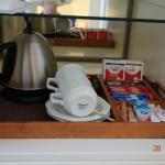 Kaffee- und Tee-Bar