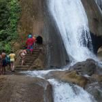 Waterfalls with Luis Mendez, Mendez Tours Huatulco.
