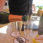 Mumm Champagne Tasting