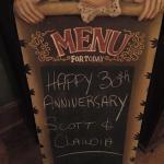 Anniversary event