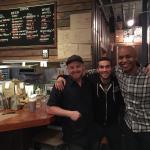 Great Guys at Farm Burger...xo